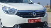 2015 Renault Lodgy Press Drive front fascia
