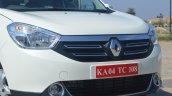 2015 Renault Lodgy Press Drive front fascia