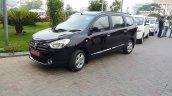 2015 Renault Lodgy Press Drive front three quarter dark shade