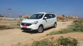 2015 Renault Lodgy Press Drive front three quarter toe in