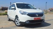 2015 Renault Lodgy Press Drive front three quarter