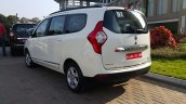 2015 Renault Lodgy Press Drive rear quarter