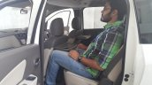 2015 Renault Lodgy Press Drive second row with passenger