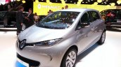 2015 Renault Zoe front three quarter at the 2015 Geneva Motor Show