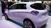 2015 Renault Zoe rear three quarter at the 2015 Geneva Motor Show