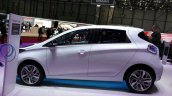 2015 Renault Zoe side at the 2015 Geneva Motor Show