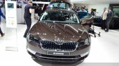 2015 Skoda Superb front view at 2015 Geneva Motor Show
