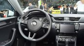 2015 Skoda Superb steering wheel at 2015 Geneva Motor Show