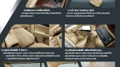 2015 Toyota Camry Hybrid facelift Thailand press shot interior details