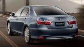 2015 Toyota Camry Hybrid facelift Thailand press shot rear