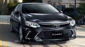 2015 Toyota Camry facelift Thailand press shot front quarter