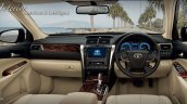2015 Toyota Camry facelift Thailand press shot interior
