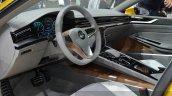 2015 Volkswagen Sport Coupe Concept GTE interior at 2015 Geneva Motor Show