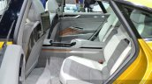 2015 Volkswagen Sport Coupe Concept GTE rear seat at 2015 Geneva Motor Show