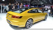 2015 Volkswagen Sport Coupe Concept GTE rear three quarter view at 2015 Geneva Motor Show
