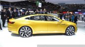 2015 Volkswagen Sport Coupe Concept GTE side view at 2015 Geneva Motor Show