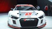 2016 Audi R8 V10 LMS front view at 2015 Geneva Motor Show