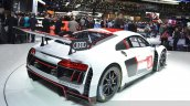 2016 Audi R8 V10 LMS rear three quarter view at 2015 Geneva Motor Show