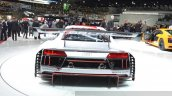 2016 Audi R8 V10 LMS rear view at 2015 Geneva Motor Show