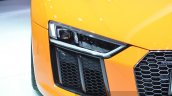 2016 Audi R8 V10 Plus headlight at 2015 Geneva Motor Show