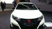 2016 Honda Civic Type R front at the 2015 Geneva Motor Show