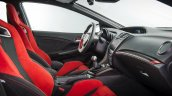 2016 Honda Civic Type R front seats press image