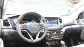 2016 Hyundai Tucson dashboard at the 2015 Geneva Motor Show