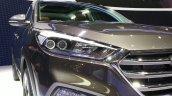 2016 Hyundai Tucson headlight at the 2015 Geneva Motor Show