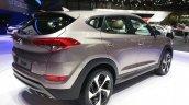 2016 Hyundai Tucson rear three quarter view at the 2015 Geneva Motor Show