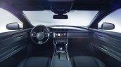 2016 Jaguar XF teaser dashboard.
