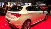 Alfa Romeo Giuletta Collezione rear three quarter at the 2015 Geneva Motor Show
