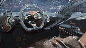 Aston Martin DBX Concept dashboard at the 2015 Geneva Motor Show