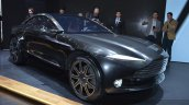 Aston Martin DBX Concept front three quarters at the 2015 Geneva Motor Show
