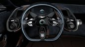 Aston Martin DBX Concept press shot steering wheel
