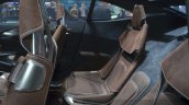 Aston Martin DBX Concept rear seat at the 2015 Geneva Motor Show