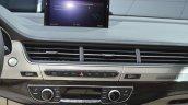 Audi Q7 E-tron ac controls at 2015 Geneva Motor Show