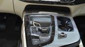 Audi Q7 E-tron central console at 2015 Geneva Motor Show