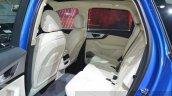 Audi Q7 E-tron rear seat at 2015 Geneva Motor Show