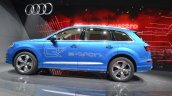 Audi Q7 E-tron side view at 2015 Geneva Motor Show