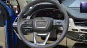 Audi Q7 E-tron steering wheel at 2015 Geneva Motor Show