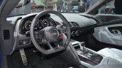 Audi R8 E-tron dashboard at 2015 Geneva Motor Show