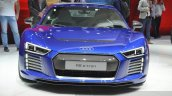 Audi R8 E-tron front(2) view at 2015 Geneva Motor Show