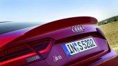 Audi S5 Sportback spoiler press image