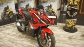 Bajaj Pulsar RS200 Red front three quarter left at Launch