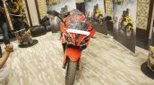 Bajaj Pulsar RS200 Red front view at Launch