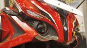 Bajaj Pulsar RS200 Red headlamp at Launch