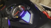 Bajaj Pulsar RS200 Red speedometer at Launch