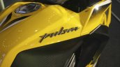 Bajaj Pulsar RS200 Yellow badging at Launch