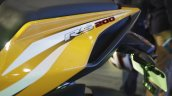 Bajaj Pulsar RS200 Yellow graphics at Launch