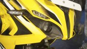 Bajaj Pulsar RS200 Yellow headlight at Launch